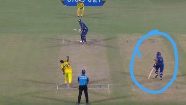 IPL 2021: Brad Hogg Raises 'Spirit of the Game' Question as Dhawal Kulkarni Takes 'Advantage' During MI vs CSK Clash (View Post)