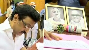MK Stalin Announces Rs 4000 COVID-19 Relief for Over 2 Crore Families, Tamil Nadu Govt to Bear Treatment Cost of  Coronavirus Patients; 5 Big Decisions Taken by CM on Day 1