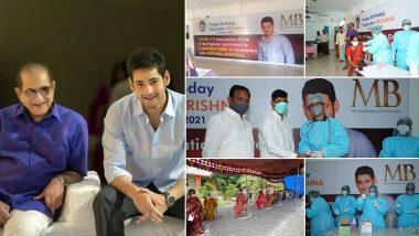 Mahesh Babu Arranges Vaccine Drive in Ancestral Village Burripalem on Father Krishna's Birthday (View Post)