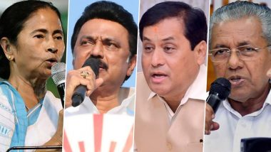 Assembly Elections 2021 Results: TMC Crosses Majority Mark in West Bengal, DMK-Congress Leads in Tamil Nadu, LDF Ahead in Kerala and BJP in Assam