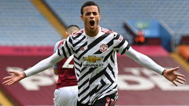 Aston Villa 1–3 Manchester United, Premier League 2020–21 Result: Bruno Fernandes, Mason Greenwood and Edinson Cavani Score As United Comeback From Behind To Win