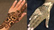 Quick Mehndi Designs For Eid al-Fitr 2021: Simple Floral Mehendi Patterns, Arabic Style DIY Mehendi Designs for the Celebration of Eid