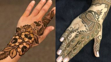 Quick Mehndi Designs For Eid al-Fitr 2021: Simple Floral Mehendi Patterns, Arabic Style DIY Mehendi Designs for the Celebration of Eid