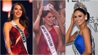 Miss Universe 2020 Andrea Meza Congratulated by Former Winners Catriona Gray and Pia Wurtzbach (See Tweets)