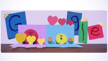 Mother's Day 2021: Google Doodle Celebrates With an Adorable Pop-Up Card on May 30