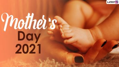Mother's Day 2021 Wishes in Hindi and Matru Divas HD Images: Send WhatsApp Stickers, Facebook Greetings, Telegram Photos and Signal Messages to Make Your Mom Feel Special