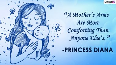 Mother's Day 2021 Quotes and WhatsApp Stickers: Happy Mother's Day Facebook Wishes, Instagram Mom Sayings, Signal HD Images, Telegram Greetings and GIFs to Cherish Motherhood