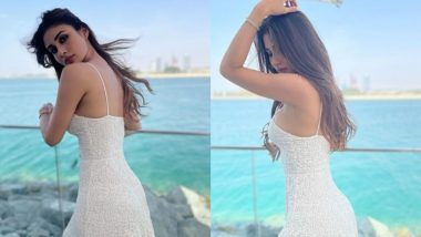 Mouni Roy Sets Summer Fashion Goals in White Noodle Strap Summer Dress in This Throwback PHOTO