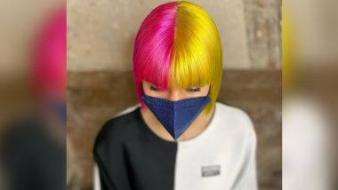 Latest Anime Beauty Trend, Split Hair Colour Is Going Viral on Social Media! Ways to Easily Try It at Home (Watch Video)