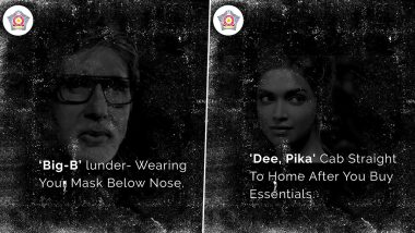 From Amitabh Bachchan to Deepika Padukone, Mumbai Police Warns Citizens About COVID-19 By Going The Bollywood Way!