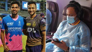 IPL 2021 Suspended: Bangladesh Stars Shakib Al Hasan, Mustafizur Rahman Return to Dhaka