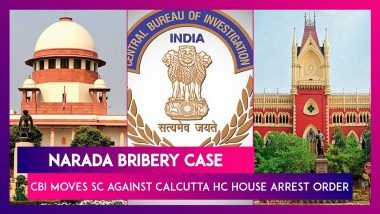 Narada Bribery Case: CBI Moves Supreme Court Against Calcutta HC House Arrest Order Of Four Leaders