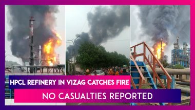 HPCL Oil Refinery In Vizag Catches Fire, No Casualties Reported