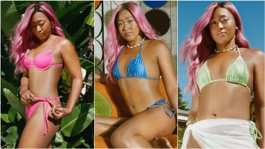Naomi Osaka Serves an Ace in a Series of Fun, Flirty and Sexy Bikinis and Daring Pink Hair for Her New Signature Swimwear Line (View Pics)