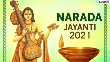 Narada Jayanti 2021 Images, Wishes & HD Wallpapers for Free Download Online: Celebrate Hindu Festival With WhatsApp Messages and Greetings