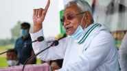 Bihar Lockdown Extended for 10 Days Till May 25; 'It Is Helping Break the Chain of COVID-19 in Bihar', Says CM Nitish Kumar