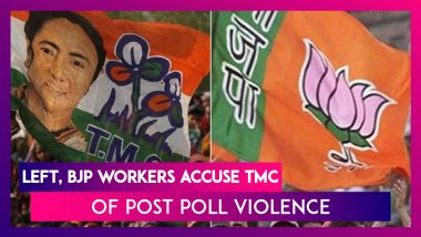 West Bengal Assembly Elections 2021: Left, BJP Workers Accuse TMC Of Post Poll Violence