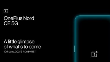 OnePlus Nord CE 5G Full Specifications Leaked Ahead of India Launch: Report