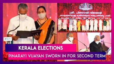 Kerala Elections: Pinarayi Vijayan Sworn In For Second Term, Appoints New Health Minister