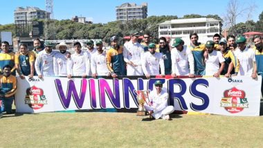 Pakistan Beat Zimbabwe by an Innings and 147 Runs To Win Second Test, Clean Sweep Test Series 2–0