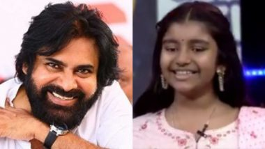 Pawan Kalyan's Daughter Aadya Appears on TV for the First Time, Shares Cute Moments With Mother Renu Desai (Watch Video)