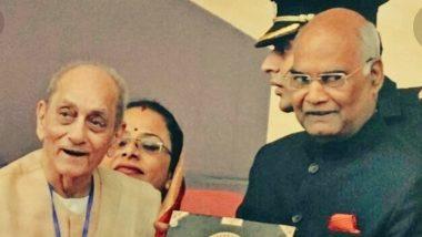Pandit Rewa Prasad Dwivedi Dies: PM Narendra Modi, President Ram Nath Kovind Condole Demise of Noted Poet and Sanskrit Scholar