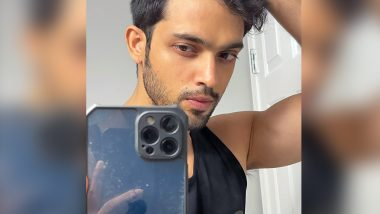 Parth Samthaan Strikes a Pose in a Tight-Cropped Frame, Shows How To Click a Natural Selfie