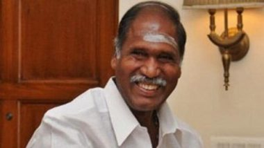Puducherry CM N Rangasamy Admitted to Chennai's MGM Healthcare Hospital After Testing Positive For COVID-19