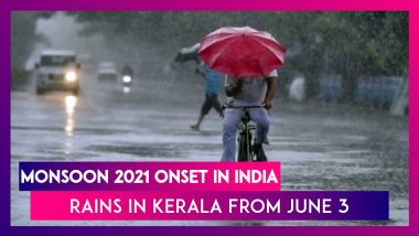 Monsoon 2021 Onset In India: IMD Says Slight Delay As South West Monsoon System Reaching Kerala On June 3