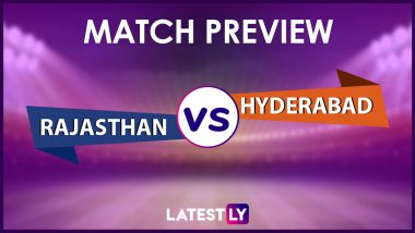 RR vs SRH Preview: Likely Playing XIs, Key Battles, Head to Head and Other Things You Need To Know About VIVO IPL 2021 Match 28