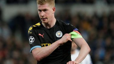 Manchester City Midfielder Kevin De Bruyne Suffers Fractures to Eye Socket, Nose During Champions League Final Match Against Chelsea