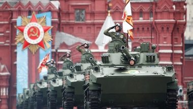 World News   Military Parade Marking 76th Anniversary of WWII Victory Kicks off in Moscow