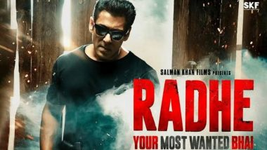 Radhe: Your Most Wanted Bhai Is Salman Khan's Shortest Film in 5 Years! CBFC Gives it a U/A Rating!