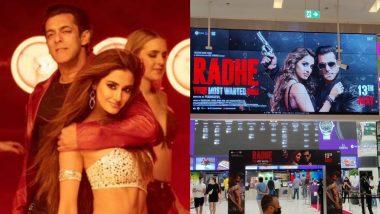 Radhe: Salman Khan-Disha Patani's Film Releases on Eid; Dubai Cinema Halls See Grand Welcome and Long Queues (Watch Videos)