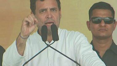 Rahul Gandhi Slams Govt Says Centre's Inept Handling of COVID-19 Pandemic Made 97% Indians Poorer