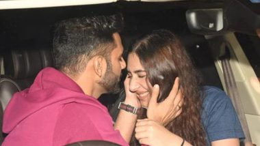 Khatron Ke Khiladi 11: Rahul Vaidya Displays PDA With Disha Parmar As He Leaves for Cape Town (Watch Video)