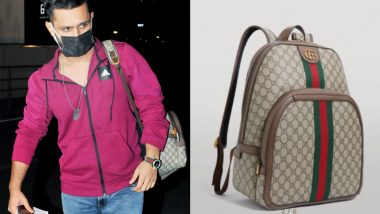 Rahul Vaidya Leaves for Khatron Ke Khiladi 11 in Style, Flaunts a Gucci Backpack Worth Rs 1.31 Lakh at the Airport!