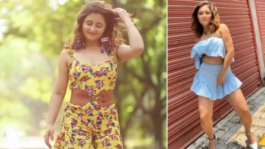 Rashami Desai in Printed Jumper or Mini Skirt and Tube Top, Which Hot Look in Trending Videos Gets Your Vote?