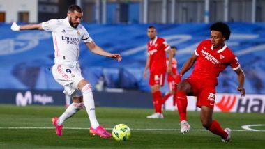 Real Madrid 2–2 Sevilla, La Liga 2020–21 Goal Video Highlights: Toni Kroos' Deflected Strike Salvages a Point for Los Blancos