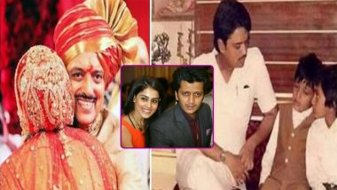 Riteish Deshmukh and Wife Genelia Remember Late Father Vilasrao Deshmukh on His 76th Birth Anniversary With Heartfelt Notes (View Post)