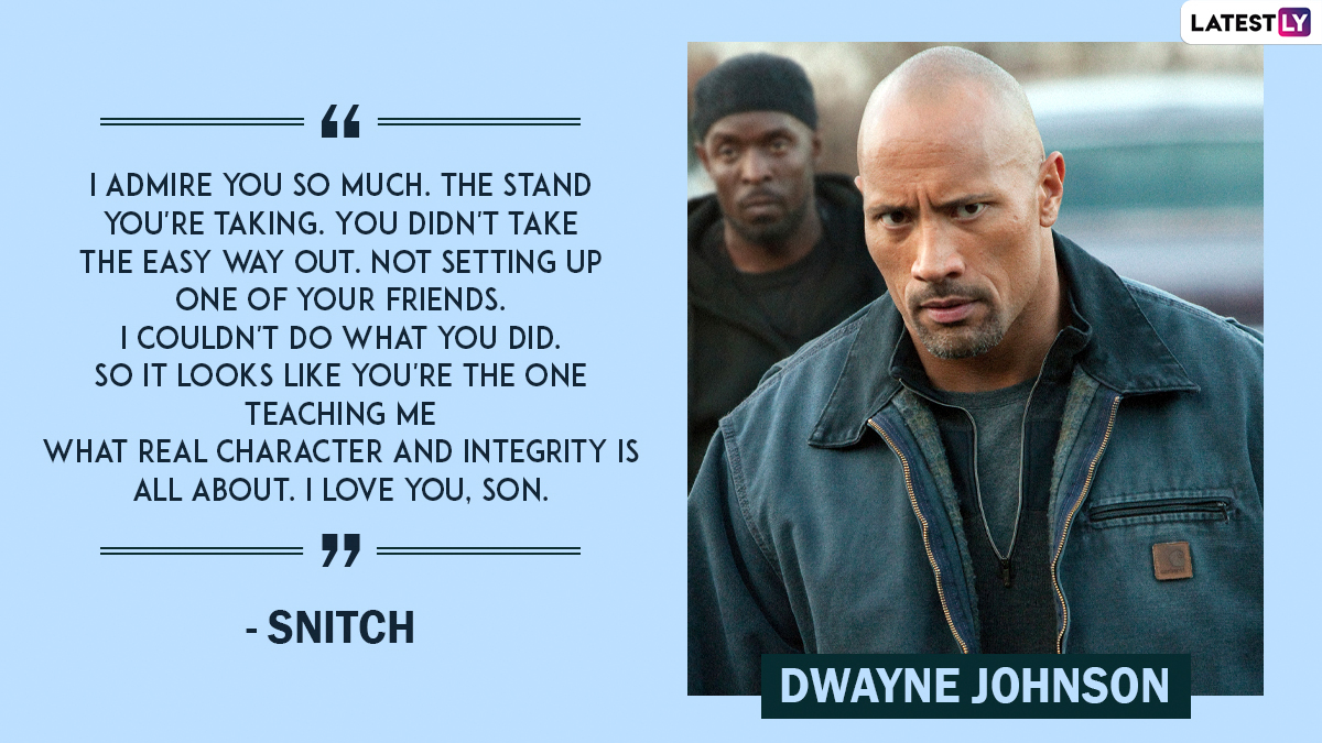 Dwayne Johnson Birthday Special: 10 iconic movie quotes from the Baywatch star that will instantly change your mood
