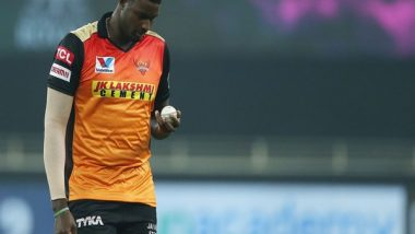 IPL 2021: Sunrisers Hyderabad All-Rounder Jason Holder Urges People of India To Battle COVID-19 Together