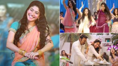 Sai Pallavi Birthday: Saranga Dariya, Vachinde, Rowdy Baby – 7 Popular Dance Numbers of the South's Sweetheart That'll Pump Up Your Mood (Watch Videos)