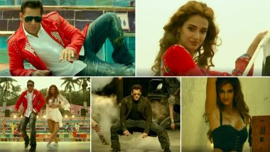 Radhe Song Zoom Zoom Showcases the Alluring Chemistry of Salman Khan and Disha Patani (Watch Video)