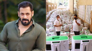 Salman Khan Arranges 500 Oxygen Concentrators for COVID-19 Patients, Fans Praise the Radhe Star for His Good Deed!