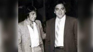 On Sunil Dutt's 16th Death Anniversary, Sanjay Dutt Shares a Throwback Picture With His Father With a Heart-Touching Tribute