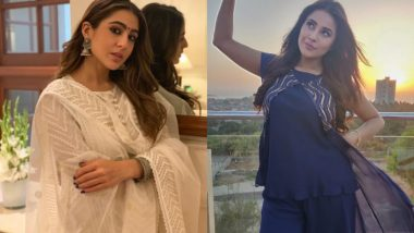Eid al-Fitr 2021 Style: From Sara Ali Khan to Shehnaaz Gill, Best Celebrity-Inspired Ways to Dress Up This Eid While Staying Indoor