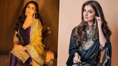 Eid al-Fitr 2021 Traditional Outfit Ideas: From Sara Ali Khan to Tara Sutaria; Take Eid Fashion Inspiration From These Bollywood Divas