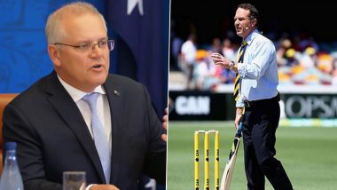 Australian PM Scott Morrison Reacts to Michael Slater's 'Blood on Your Hands' Remark, Says 'That's Obviously Absurd'