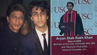 Shah Rukh Khan's Son Aryan Khan Graduates From USC, Picture From the Starkid's Convocation Goes Viral!